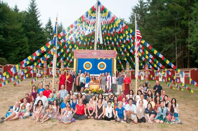 Graduates of the 2014 Dzogchen Lineage Internship